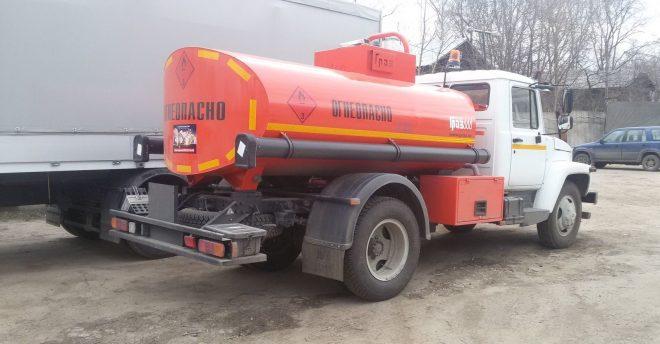 Топливозаправщик ГАЗ-3309