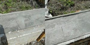 Трещины на фундаменте после заливки бетона