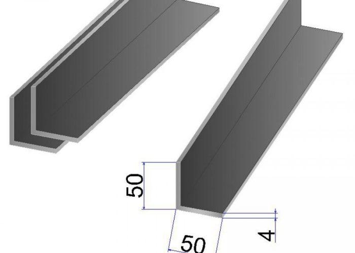 Уголок стальной 50×50