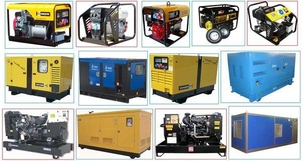 Виды генераторов для дома