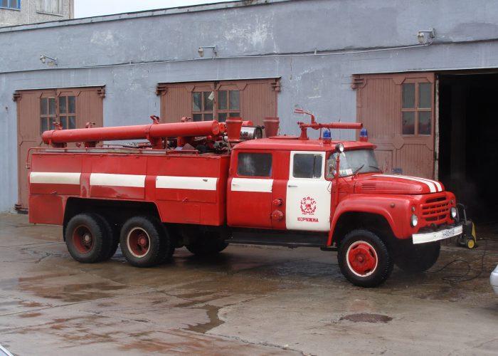 ЗИЛ-133ГЯ - пожарная машина