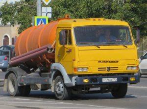 Ассенизаторская машина КО-515А