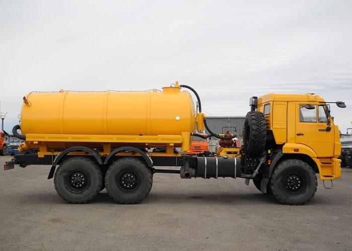 Вакуумная машина МВ-10 КАМАЗ-43118E4